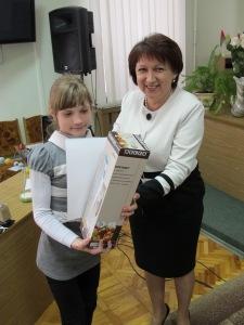 Переможець обласного форуму юних шанувальників фізики Коцюруба Олександра
